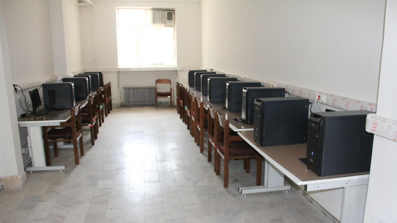کلاسها و سایتهای مرکز آموزش